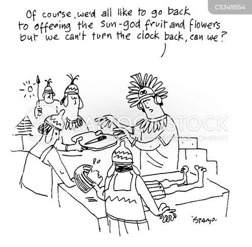 paganistic cartoon