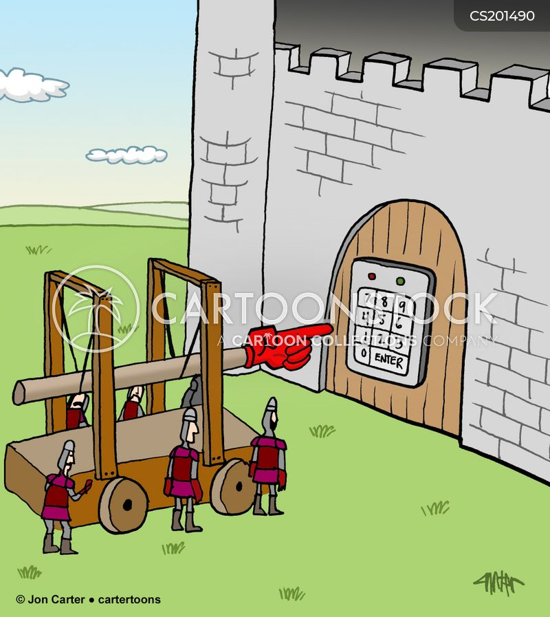 key code cartoon