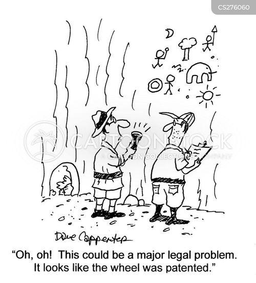 patent laws cartoon