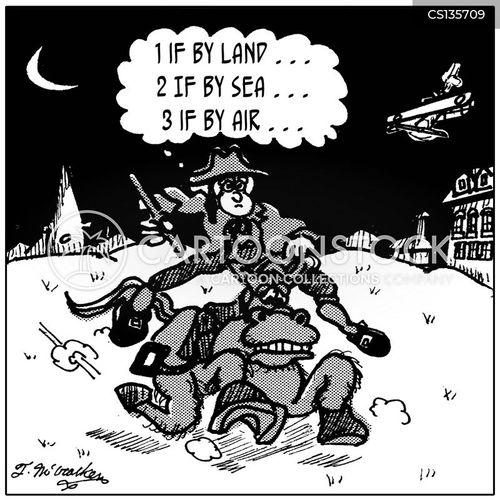 paul revere cartoon