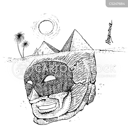 sphinxes cartoon