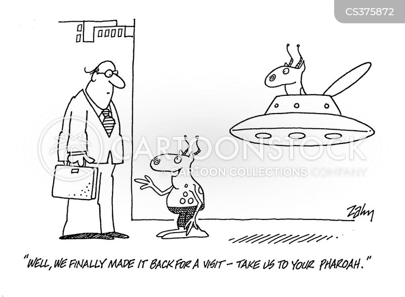 take us to your leader cartoon