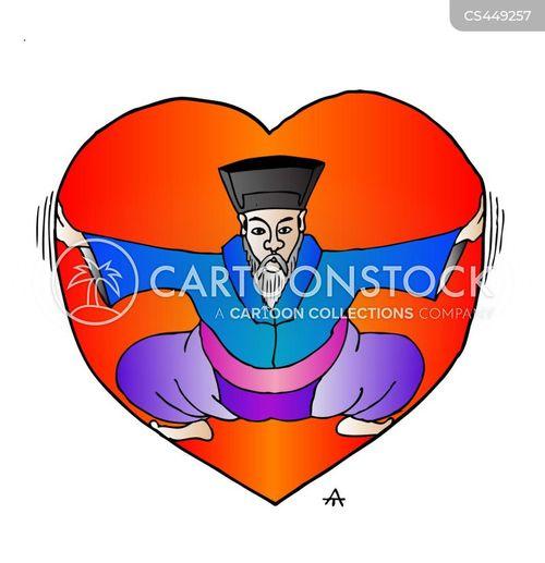 confucianism cartoon