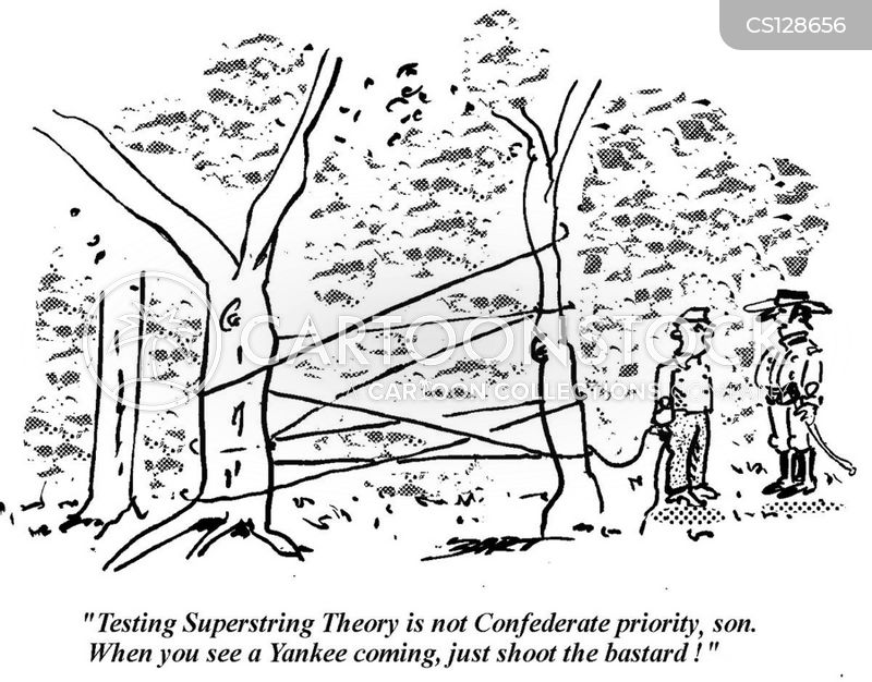 superstring theory cartoon