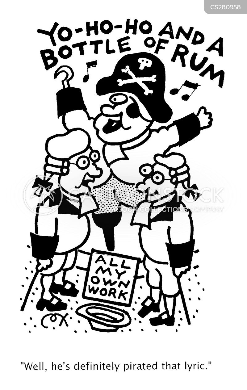 pirated cartoon