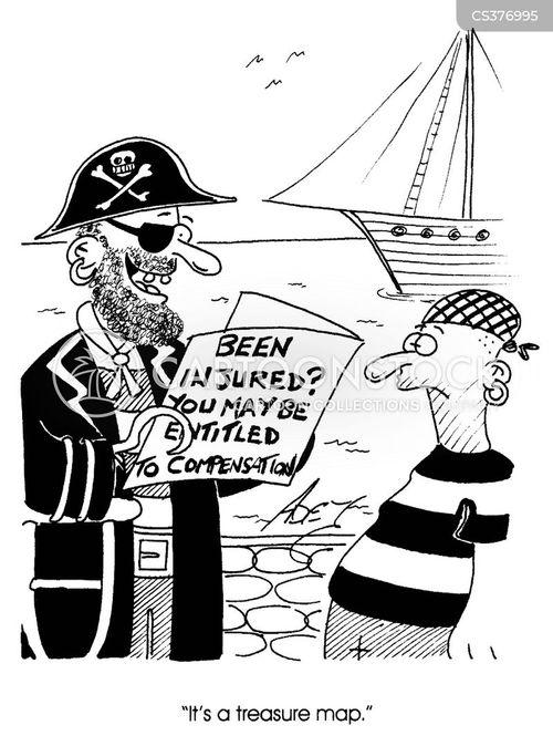 captain hook cartoon