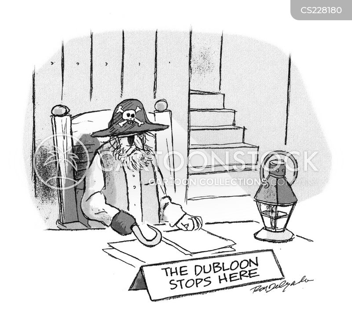 dubloons cartoon