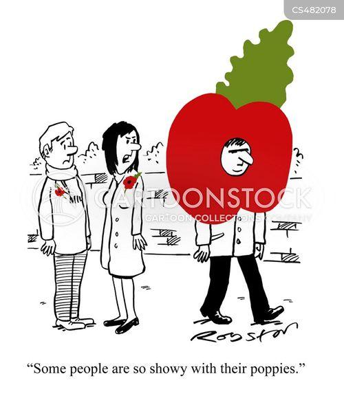 poppy day cartoon