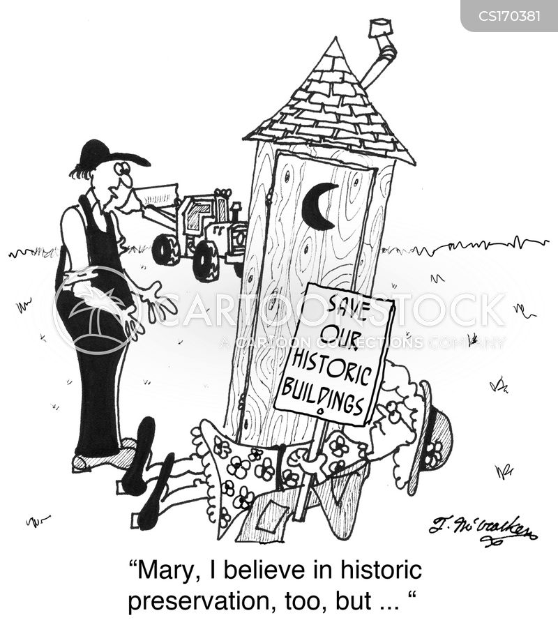 historic cartoon