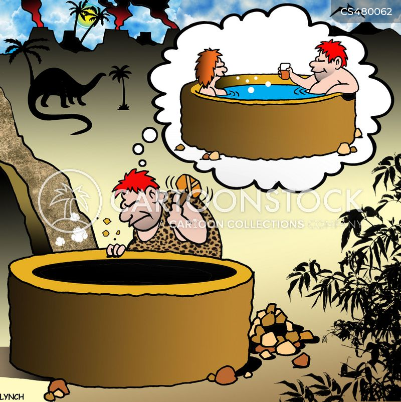 hottubs cartoon