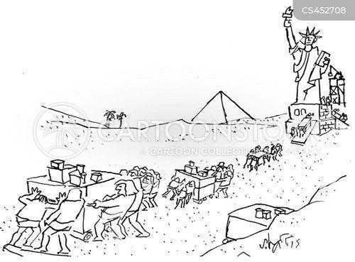 giza cartoon