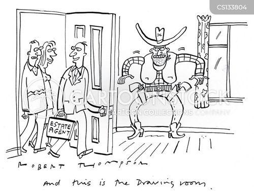 drawing room cartoon