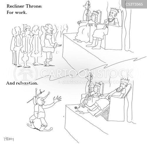 recliner chair cartoon