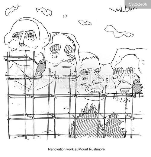 rushmore cartoon