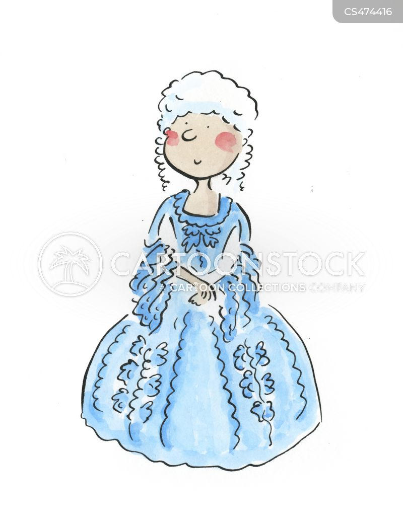 ballgown cartoon