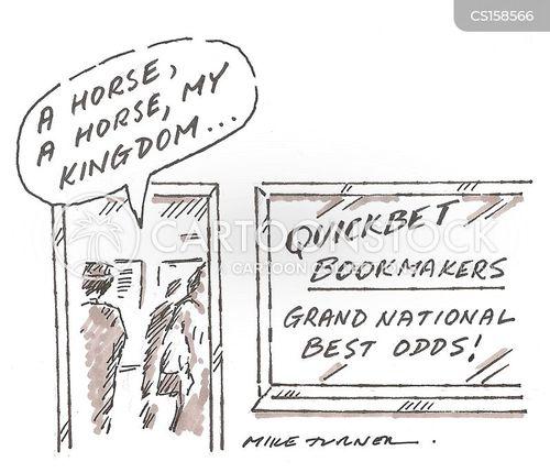 grand national cartoon