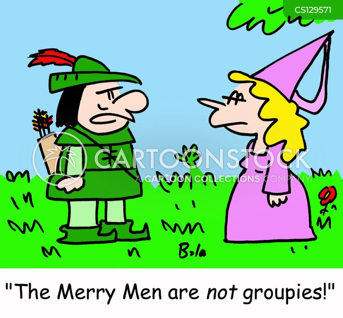 merry men cartoon