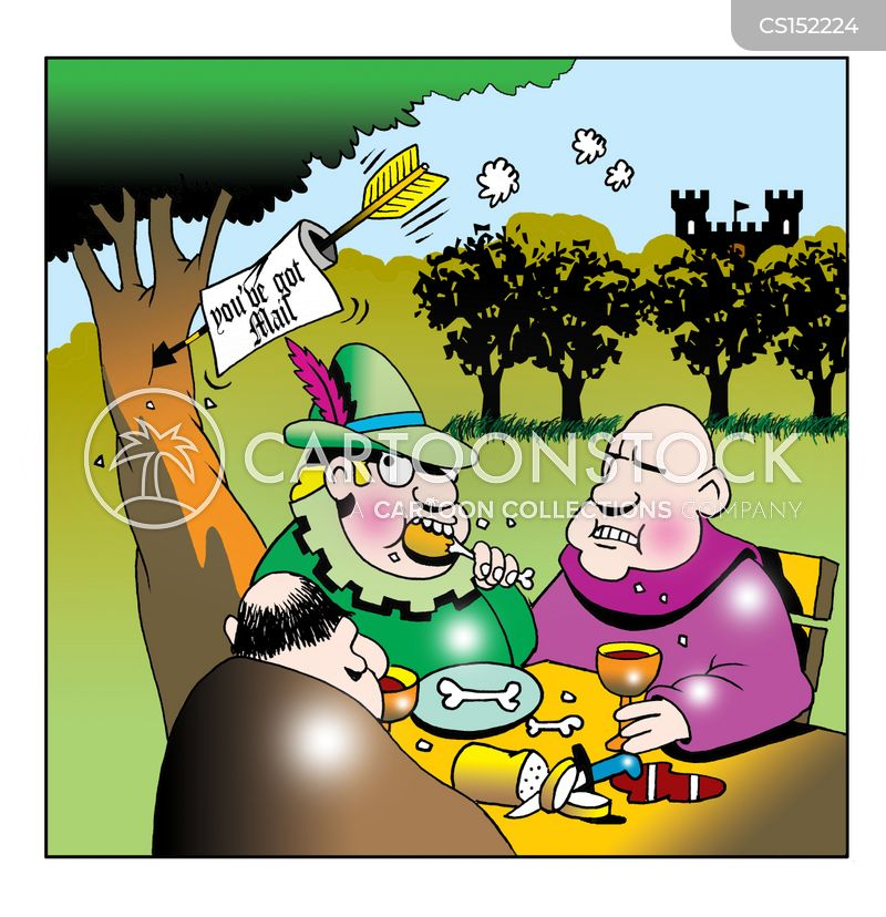 sheriff of nottingham cartoon