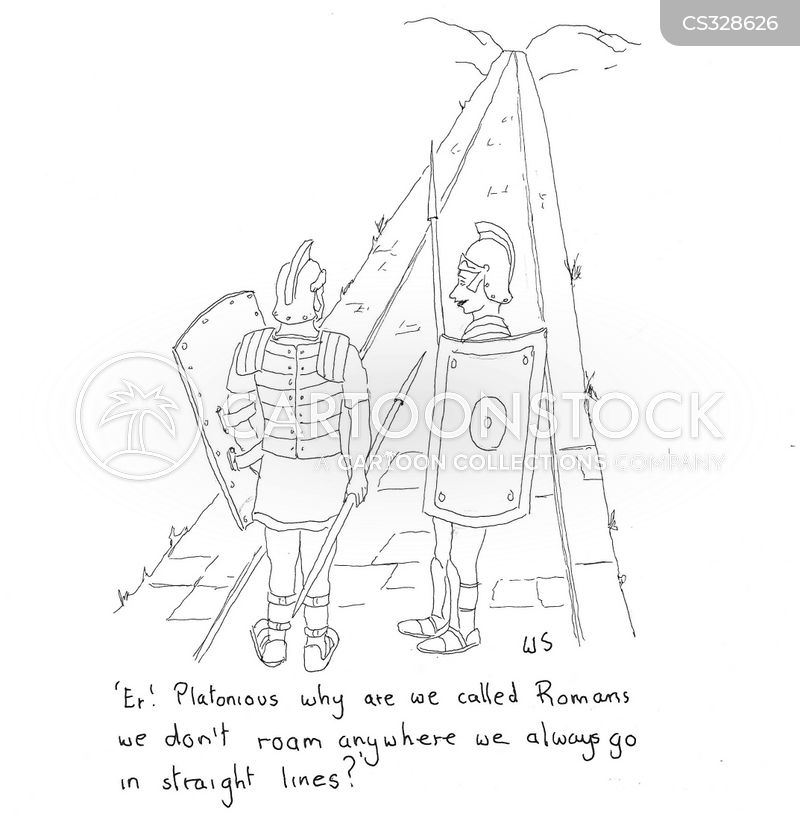 Roman Engineering Cartoons and Comics - funny pictures from