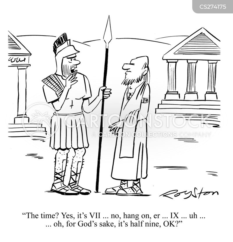 sun dial cartoon