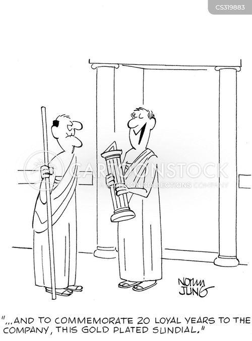 retirement gift cartoon