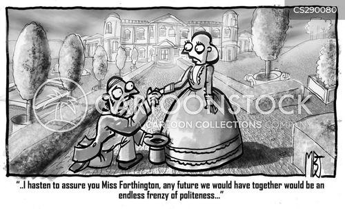 good society cartoon