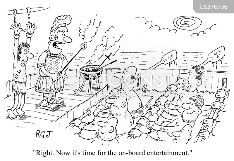 slave ships cartoon