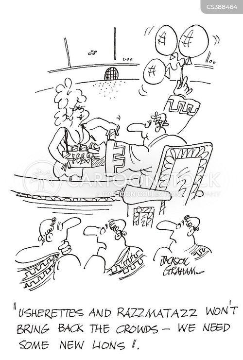 amphitheatres cartoon