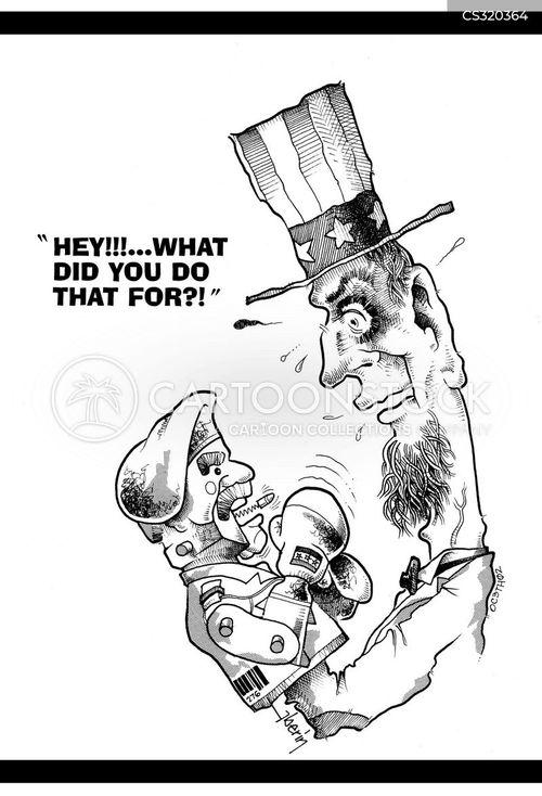 gulf wars cartoon