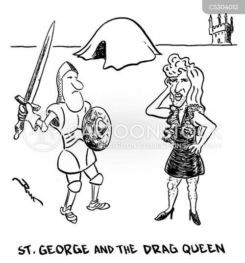drag queens cartoon