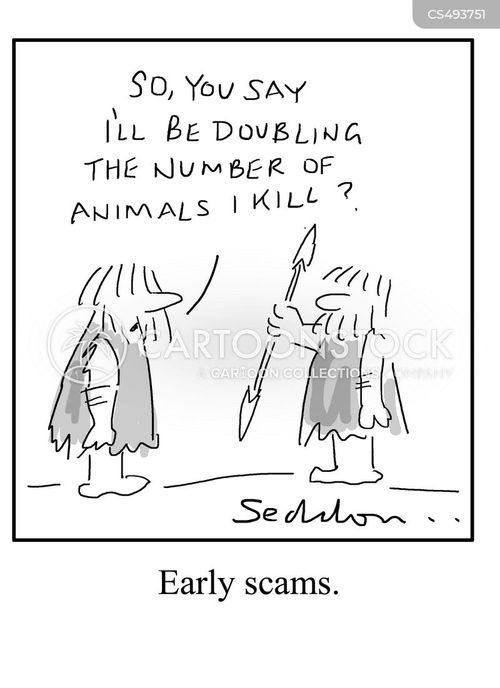 false claims cartoon