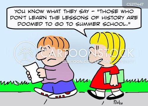 summer schools cartoon