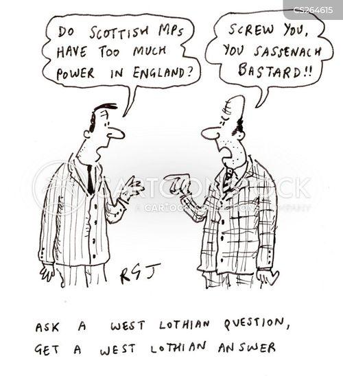 west lothian cartoon