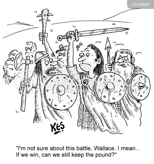 scottish national party cartoon