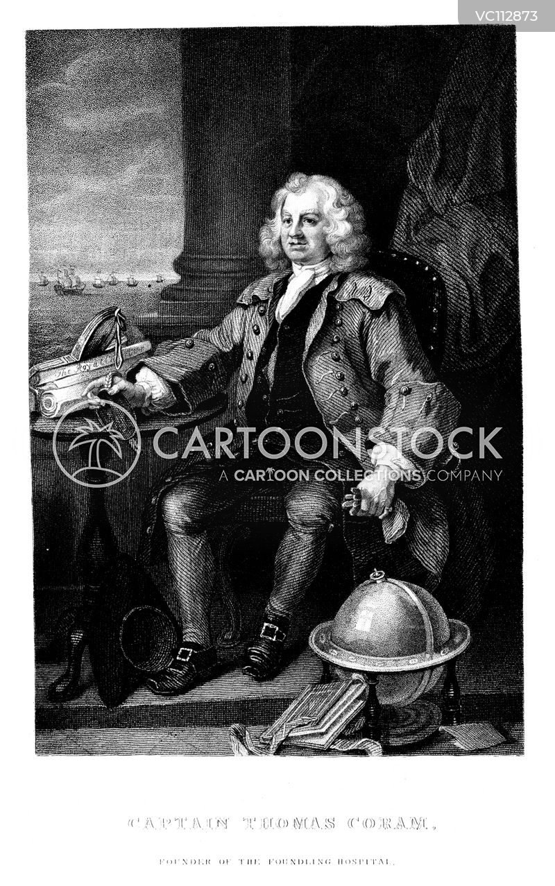 Captain Thomas Coram cartoons, Captain Thomas Coram cartoon, funny, Captain Thomas Coram picture, Captain Thomas Coram pictures, Captain Thomas Coram image, Captain Thomas Coram images, Captain Thomas Coram illustration, Captain Thomas Coram illustrations