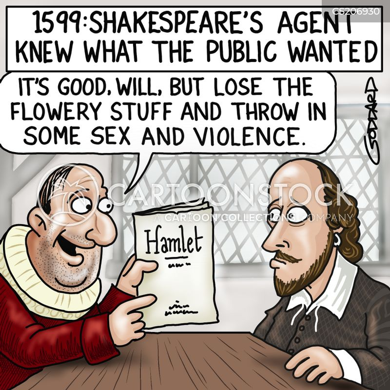 literary agent cartoon