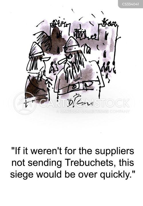 trebuchets cartoon