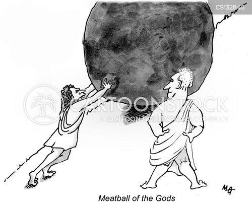 meatballs cartoon