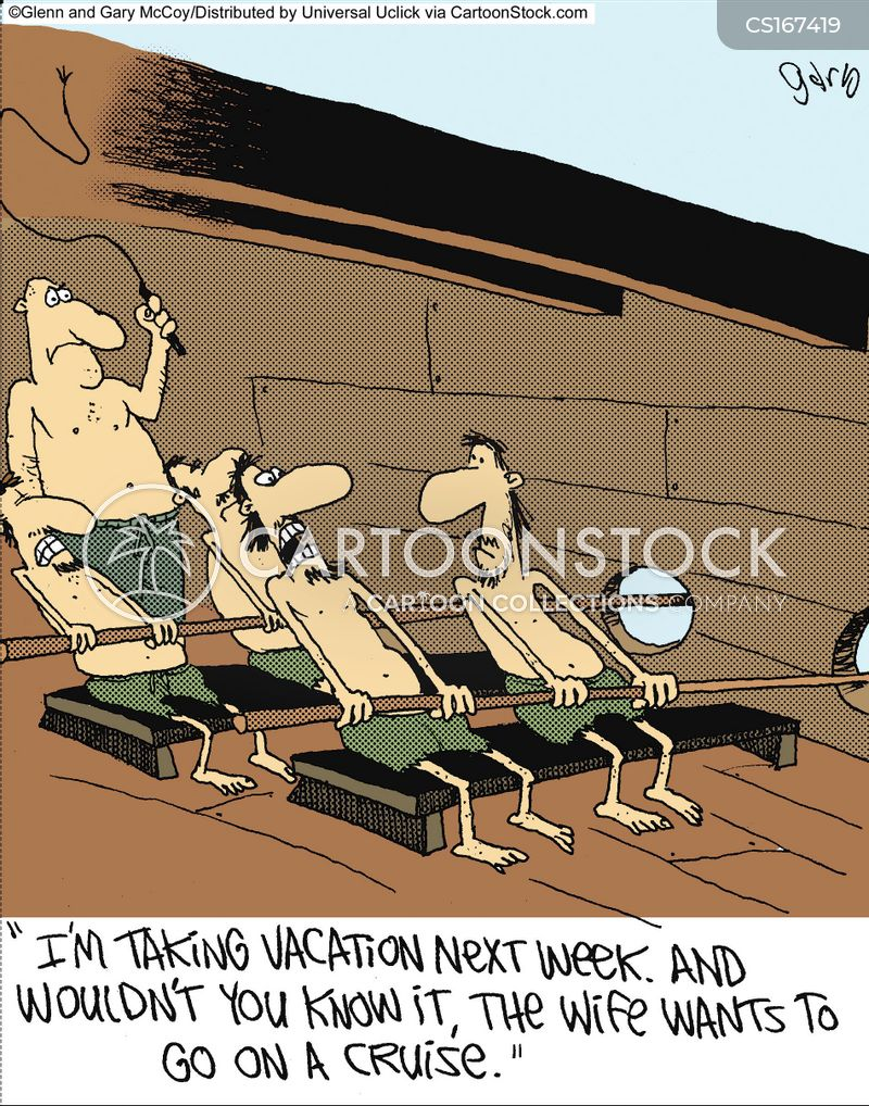 cruise cartoon