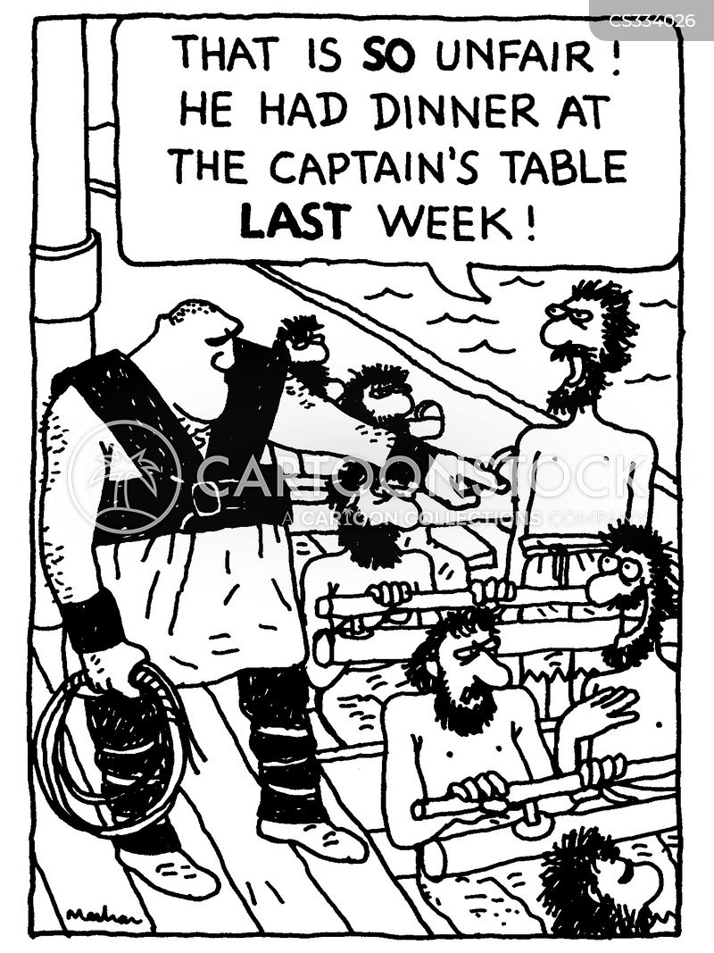 coxswains cartoon