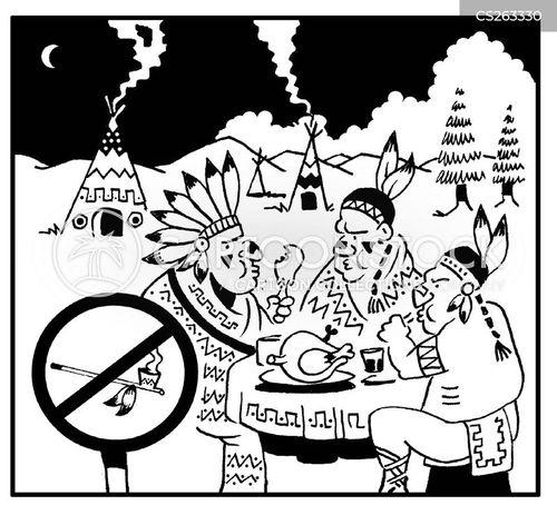 non smoking section cartoon