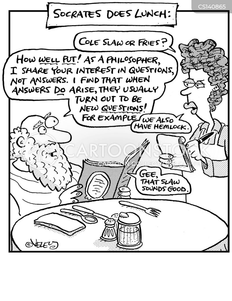 socrates cartoon