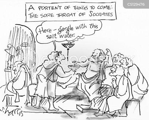 socrates cartoon