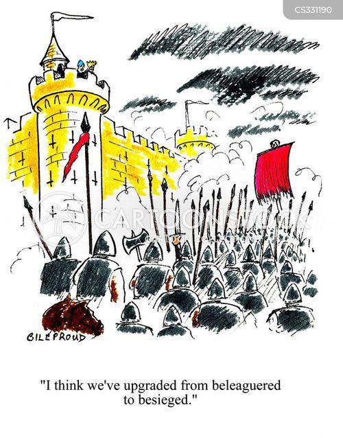 sieged cartoon