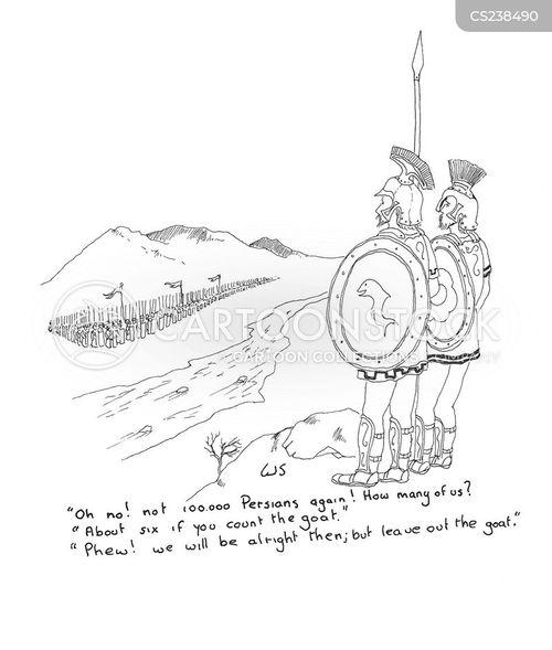spartans cartoon