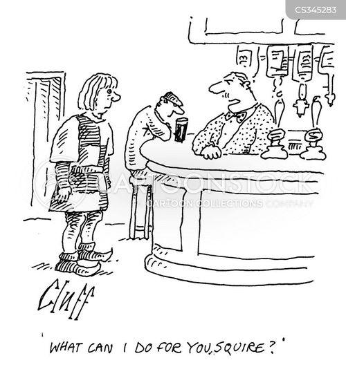 bar-tender cartoon