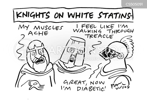 white knight cartoon