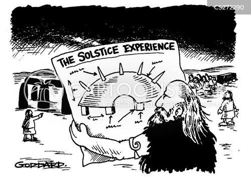 millenium cartoon