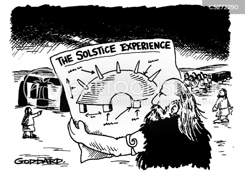 solstice cartoon