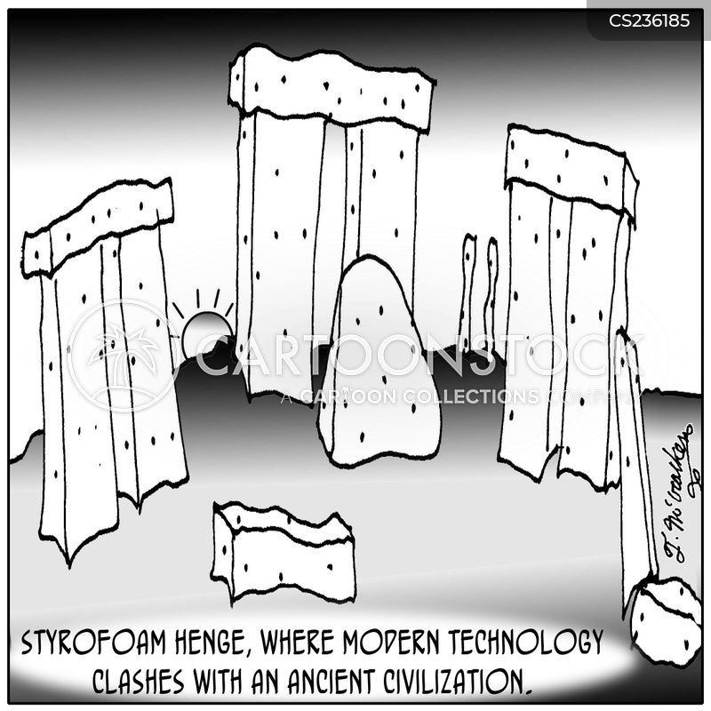 styrofoam cartoon